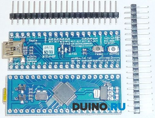 Arduino IDE with an STM32F103 board - YouTube