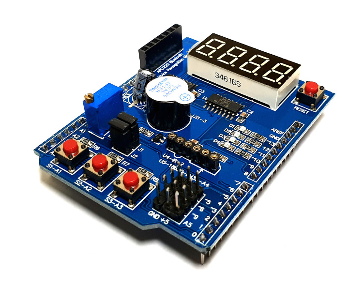 Multi-function Arduino Shield